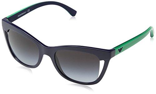 Emporio Armani Damen 0ea4088 Sonnenbrille, Blau (Blue), 52