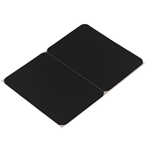 Rest Touchpad (Sharplace Silikon Handgelenk Pad Abdeckung Wrist Pad Handauflage Polster mit Touchpad Protektor Skin Hülle für MacBook Air/Pro Laptops - Schwarz)