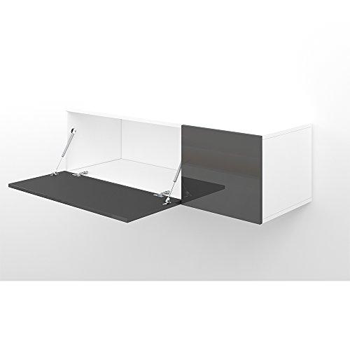 good amazing gallery of tv lowboard cm anthrazit hochglanz sideboard wandschrank wohnwand hngeschrank kompakt schwebend hngend modern with wandschrank with