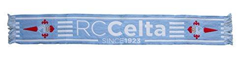 R.C. Celta de Vigo Bufcel Bufanda Telar, Azul Celeste / Blanco, Talla Única