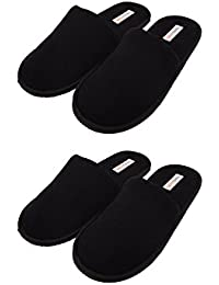 Travelkhushi Unisex Indoor Slippers - Combo Pack of 2