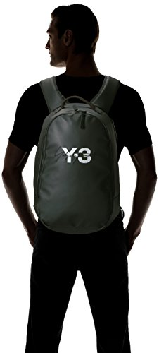 adidas Y-3 Men\'s Logo Backpack, Black, One Size
