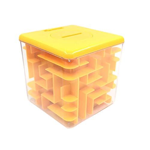 Bibao Spardose Labyrinth Bank, Geldmünzen Geldscheine Aufbewahrungsbox, perfektes Geschenk, Puzzle-Box für Kinder, Spardose, Geschenk niedlich -
