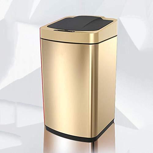 YLEI Basurero de Cocina, Cubo de Basura Inteligente con Sensor, Cubo de Basura de Apertura automática...