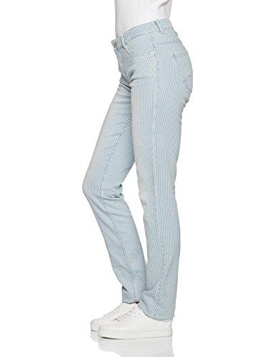 s.Oliver Damen Slim Jeans Blau (Air Blue AOP 53B0)
