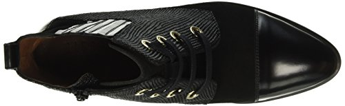 Hispanitas Liverpool, Bottines non doublées femme Noir - Schwarz (Antique-I6 Black Crosta-I6 Black LIZARD-I6 Black)