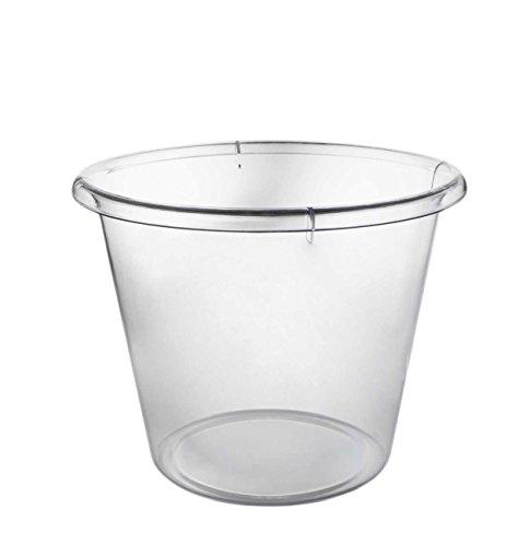 Party Essentials N412590 - Cubitera de hielo (plástico duro, transparente,...