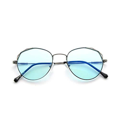 HHL Farbe Anti-Blue-Light-Brillen , Lesen Von Brillen , Brillen Ohne Verschreibung , Unisex , Schützen Sie Die Augen (Farbe : B)