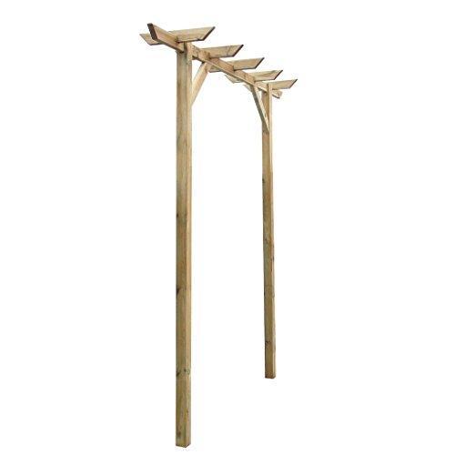 Rankhilfen Holzzaun Pflanzengitter