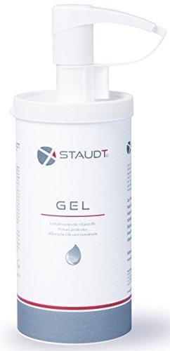 Staudt Gel Dispenser 500 ml - Pommade agreable - Avec l'extrait des moules vertes et des ingrédients végétaux