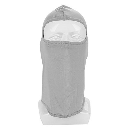 Winter Unisex Masken für Staub,Winddich Warm kalten Männer und Damen Fahrrad Radfahren Wandern Hut Draussen Kopfschutz, Nackenschutz Atmungsaktive Gesichtsschutz für Ski und Wintersport (Hellgrau) (Kalten Kopf Maske)