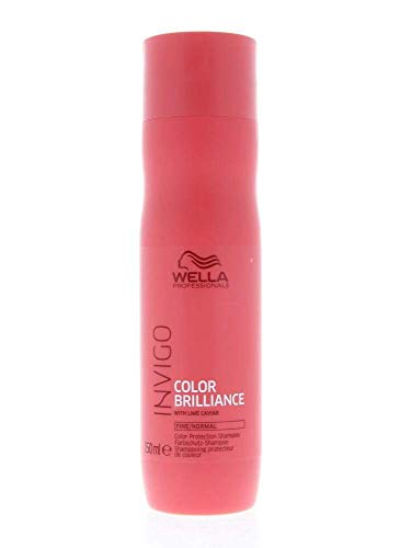 Wella Professionals Invigo Color Brilliance Protection Shampoo Fine/Normal - Farbschutzshampoo für feines/normales Haar, 250 ml