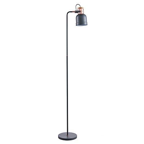 Lampadaire Lattine lampe sur pied de sol gris dorée VN-L00040-EU