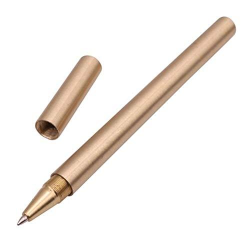 etbotu Minimalismus Luxus Gold optional Superfine Kugelschreiber reinem Messing Schule Office Stationery Kupfer Kugelschreiber