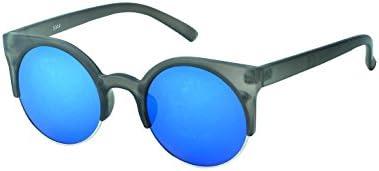 Gafas de sol de las señoras Chic-Net sobre John Lennon vintage del ojo de gato del estilo retro 400UV