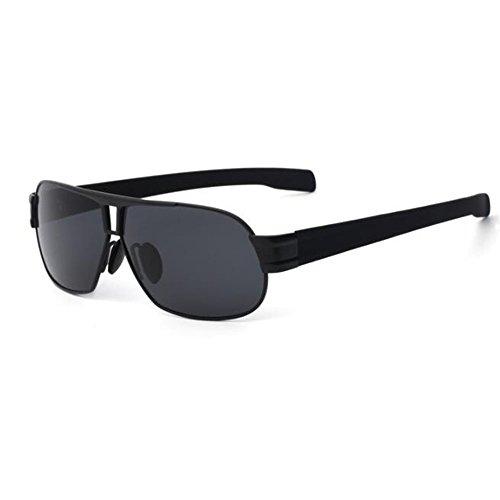 Hornz HZ Serie Profi - Prämie Polarisierte Sonnenbrillen Mattschwarzes Feld - Dunkles Rauch-Objektiv 9cgNQ