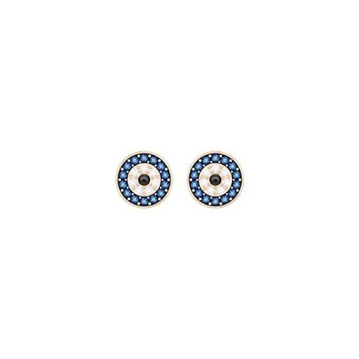 063c9f62caa2 Swarovski Pendientes Crystal Wishes Evil Eye, multicolor, baño de ...