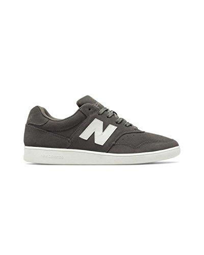 New Balance Männer Fußball CT288V1 Lifestyle Schuhe, 40 EUR - Width D, Grey/White (New Balance Schuhe Fußball)