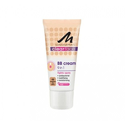 Manhattan Clearface BB Cream 02 Pack of 1 x 25 ml