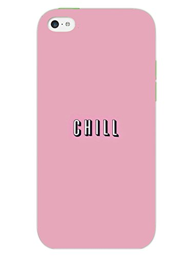 iPhone 5S Cases & Covers - Take A Chill Pill - Quote - Hard Shell Back Case  available at amazon for Rs.469