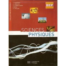 Sciences physiques BEP par Hachette
