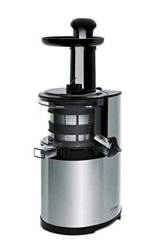Caso 3500 SJ200 Design frutta e verdura spremiagrumi con Slow Juice tecnologia, 90 giri/min, 200 W, corpo in acciaio inox
