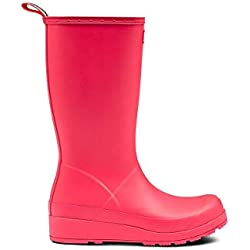Bota Hunter Original Play Tall Rosa 40 41 Rosa