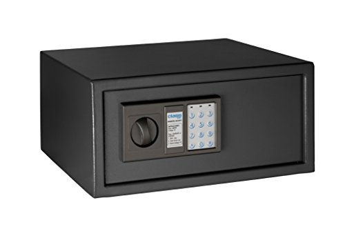 Arregui Class T35EB - Caja fuerte de sobreponer electrónica, para portátil acero, 430 x 200 x 350...