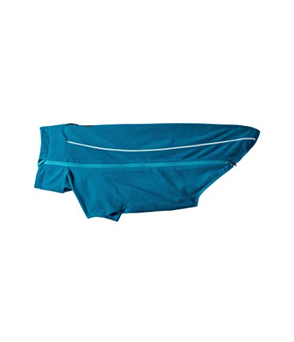 Ruffwear 2016Climate Changer Fleece-Jacke, Medium, Baja blau