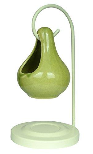 Preisvergleich Produktbild Aroma Ceramic Wax Teelicht Brenner Diffuser Oil Warmer Duft-Halter-Ausgangsdekor-Geschenk-Set