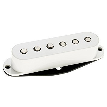 DIMARZIO dp409 W Virtual Vintage pesado Blues 2 Single Coil blanco w/Bonus Deluxe Rock Island sonido Púas (X3) 663334017139