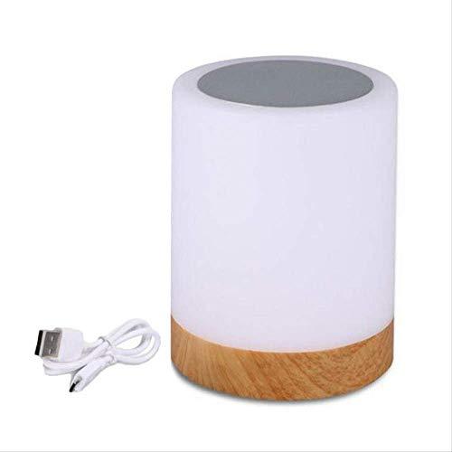 FANGYN Rechargeble Led Touch Nachtlicht Innovative Little Nightlight Tabelle Nachttischlampe 6 Farben Licht verstellbare Nachtlampe -
