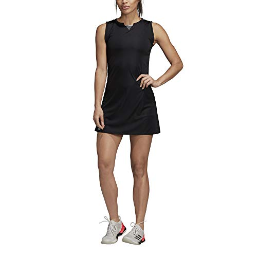 adidas Damen Club Tenniskleid, Black, XS