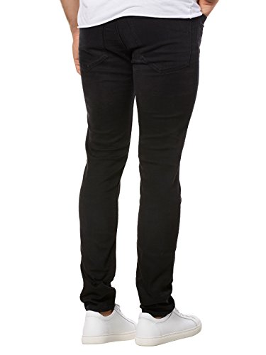 HUGO Herren Straight Jeans Schwarz (003)