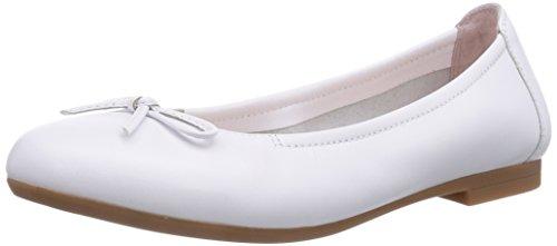 Unisa CRESY_15_VI, Ballerine bambine, Bianco (Bianco), 28
