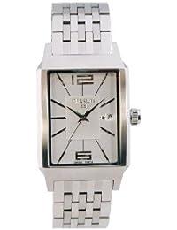 Cerruti 1881 Venezia CRB007A211C - Reloj de caballero de cuarzo, correa de acero inoxidable color plata