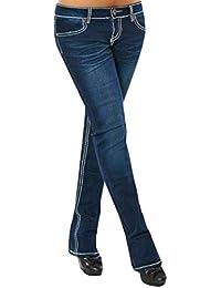 MORCHAN ❤ Femmes Broderie Skinny Crayon Jeans Denim Stretch Slim Fitness  Pantalons Pantalons Combinaisons Pantalon Court d81e8e3dec43