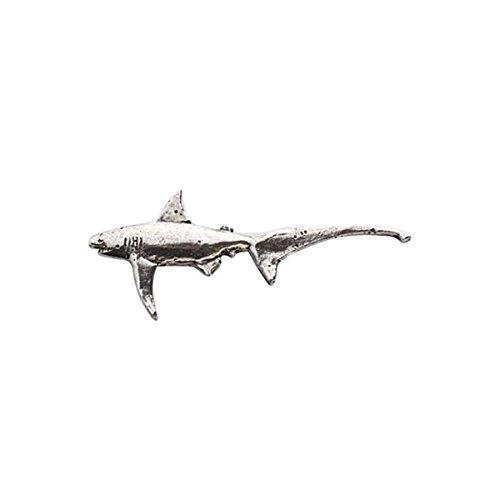 Thresher, in peltro, a forma di squalo, S116M Refrigerator Magnet
