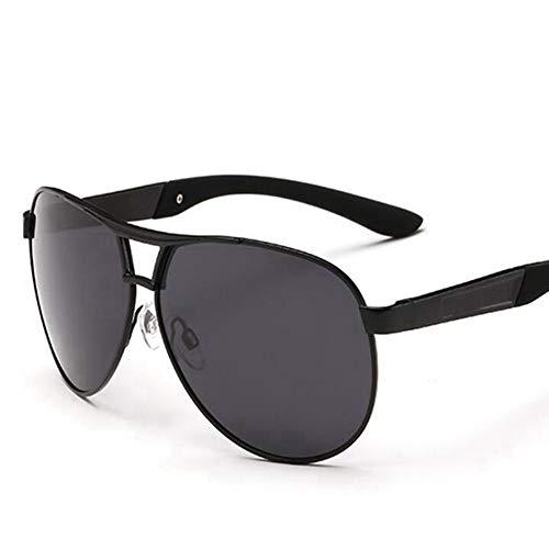 Sxuefang Sonnenbrillen für Herren Klassische Pilot Sonnenbrillen Marke Mode Fahren Polarisierten Großen Rahmen Männlichen Aviator Eyewear UV400