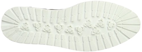 Bianco Damen Keil Mokassin Derbys Grau (Grey)