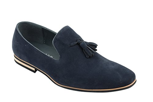 Xposed - piel sintética Slip On Suede Loafers Smart