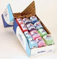 Bandage CoFlex 2x5yd Colorpack - 36 rolls per case by Andover