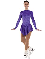 Tappers & Pointers gym22Ice Skating robe en velours écrasé