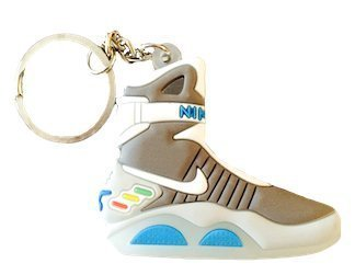 Nike Air Mag Back to the Future 2D Flat Sneaker Keychain by SPUSA by SPUSA