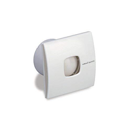 CATA SILENTIS 10 Blanco - Ventilador Blanco, Techo, Pared, De plástico, 37 dB, 2500 RPM, 98 m³/h