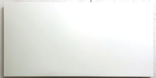 Fenix 5401343 Heizung / Infrarotheizung Comfort 750 - P, + Montagerahmen, pulverbeschichtetes Heizelement, für Wand- als auch für Deckenmontage geeignet, 600 W, mit Stecker, 1192 x 592 x 30 mm, 12 kg
