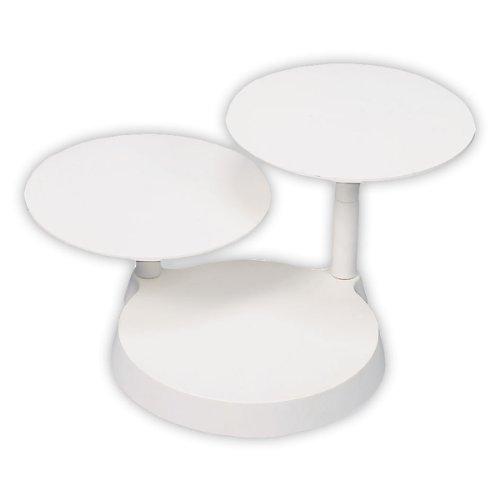 stadter-554023-alzata-a-3-piani-per-torte-in-plastica-smontabile-piatti-oe-28-cm-altezza-totale-24-c