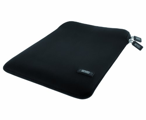 Preisvergleich Produktbild Artwizz Neoprene Sleeve Tasche für iPad (4th generation) - Schutzhülle mit Reißverschluss,  weichem Webpelz,  extra Schutzrand - Designed in Berlin - Schwarz