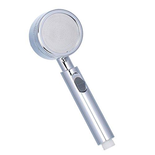 MagiDeal Hochdruck Handbrause Brausekopf Duschkopf Duschbrause Brause für Badezimmer, 20~30% Wasser Sparen - kleine Löcher