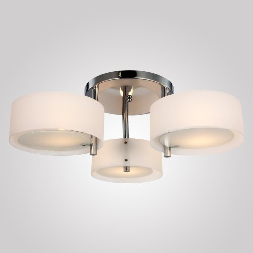 Lámpara moderna de estar 3 luces